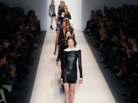 New York Fashion Week Fall/Winter 2013 runway Rachel Zoe (via nordstrom)