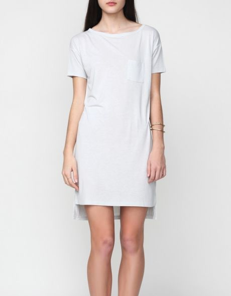 HIGH ON DIY | T by Alexander Wang Boatneck Dress
