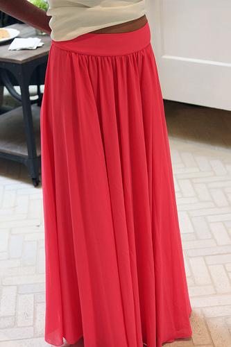 Lange rok maken zonder patroon