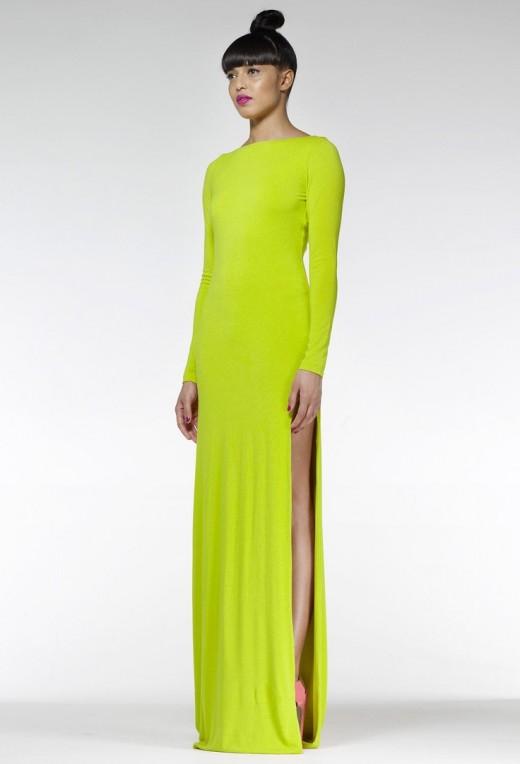 Lime Hutch maxi jurk AQ/AQ