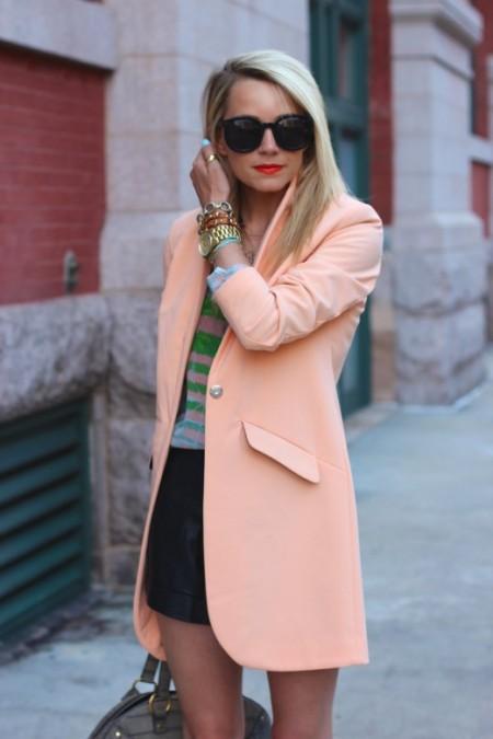 Zalmroze oversized blazer H&M