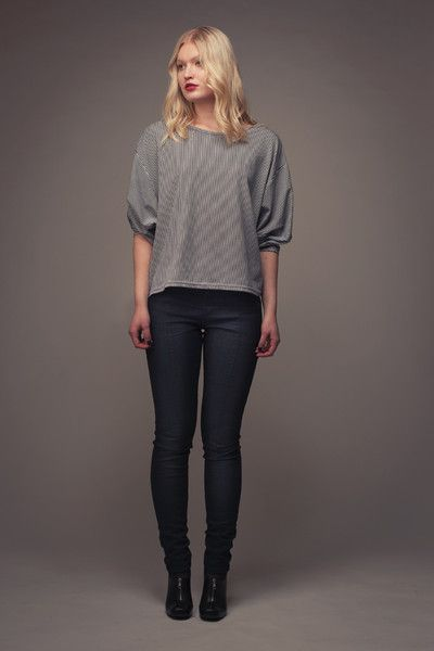 Named Blair Batwing shirt  naaipatroon