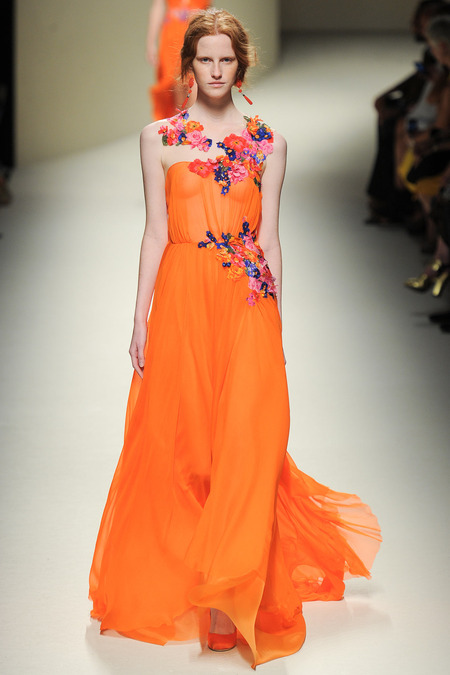Alberta Ferretti Spring Summer 2014 Milaan Fashion Week