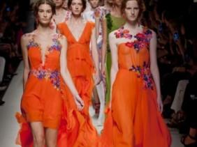 Alberta Ferretti Spring 2014 Milaan Fashion Week
