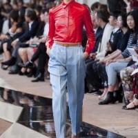 HIGH ON DIY   Trussardi leren blouse