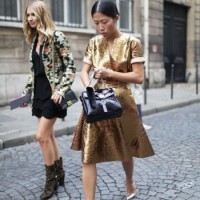 STREET STYLE DIY | Dé gouden jurk