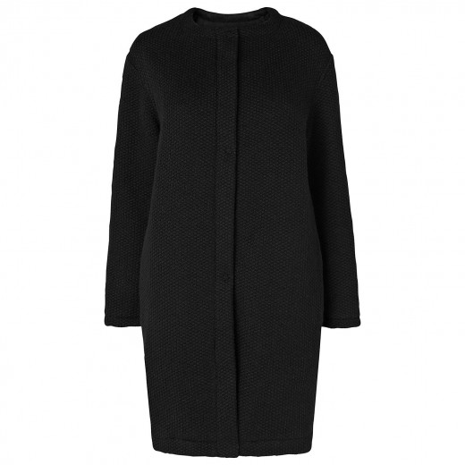 Phase Eight Made in Italy Cerys cocoon coat zwart