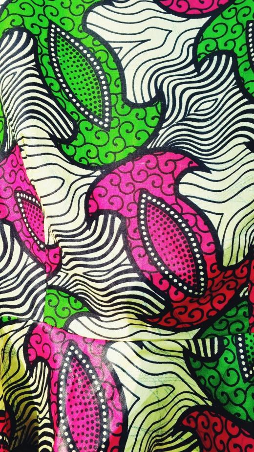 detail peplum top afrikaanse print ADDICTEDTODIY