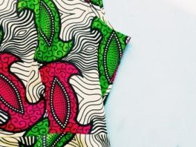 DIY peplum top met Afrikaanse print   ADDICTEDTODIY