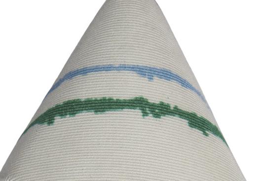 Close up Lama Multi Stripe Mid Heel Pointed Pump Bionda Castana