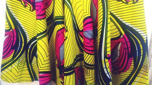 afrikaanse print jurk ADDICTEDTODIY